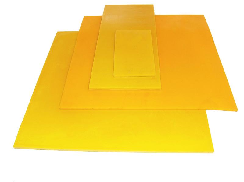 planchas de elastómero de poliuretano